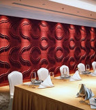 Natural Bamboo 3D Wall panel Decorative Wall Ceiling Tiles Cladding Wallpaper, Name- 'Karstad'
