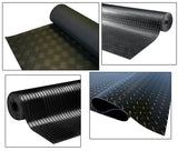 Rubber Flooring Garage Sheeting Matting Rolls 1.2M and 1.5m Wide