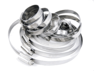Hose Clamps W1 (Zinc Plated) and W4 Stainless Steel Premium Quality British Hose Clamps Shop now!