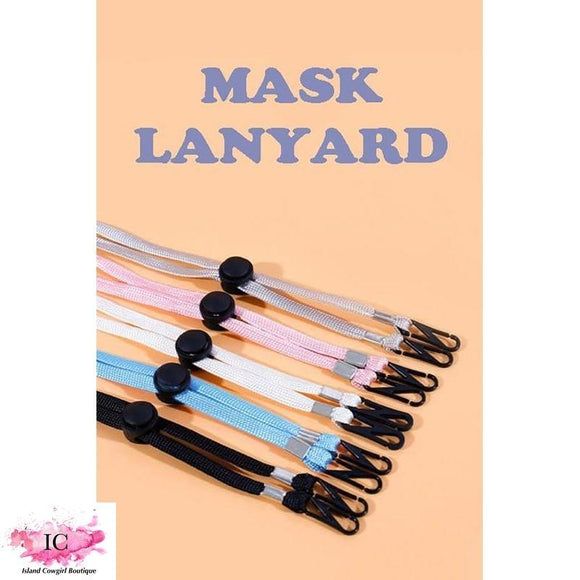 Mask Lanyards - Island Cowgirl Boutique