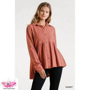 Be Your Girl Babydoll Top