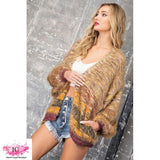 You Should Be Mine Fuzzy Open Cardigan - Island Cowgirl Boutique