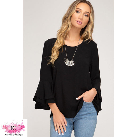 Bella Bell Sleeve Top