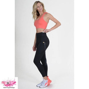 On the Run High Waisted Leggings - Island Cowgirl Boutique