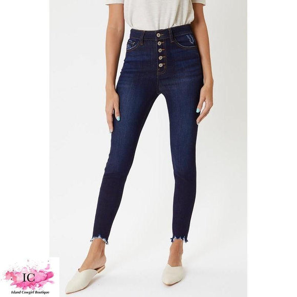 Beverly Super High Rise Skinnies - Island Cowgirl Boutique