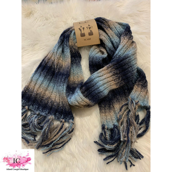 CC Ombré Knit Scarf - Island Cowgirl Boutique