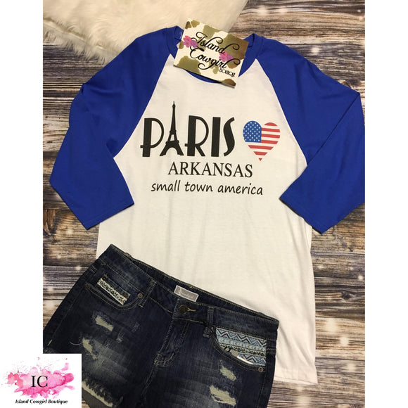 *Paris Pride Baseball Tee
