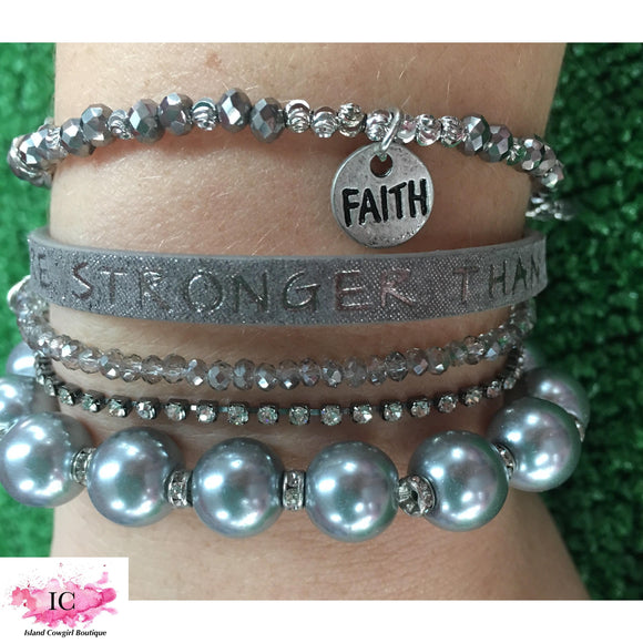 Power Words Bracelet - Island Cowgirl Boutique