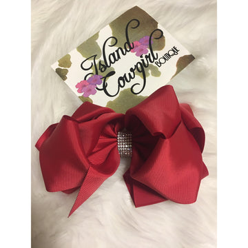 Bow/ Large (Rhinestone)