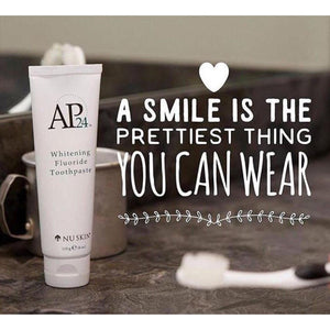 *AP24 Whiting Fluoride Toothpaste