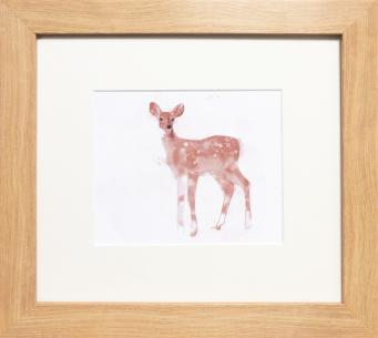 Woodland Friends - 'Deer' Framed Print