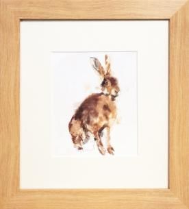 Woodland Friends - 'Hare' Framed Print