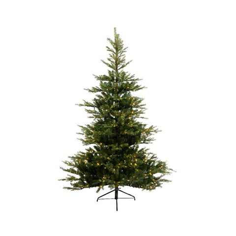 Everlands 7ft 'Grandis Fir Pre-Lit' Artificial Christmas Tree
