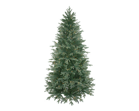 Everlands - 7ft 'Aspen Fir Pre-Lit' Artificial Christmas Tree