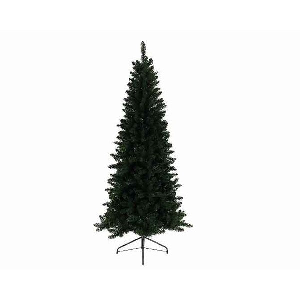 Everlands -'8ft Lodge Slim' Artificial Christmas Tree