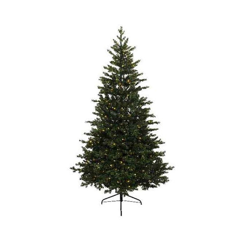 Everlands 7ft 'Allison Pine Prelit' Artificial Christmas Tree