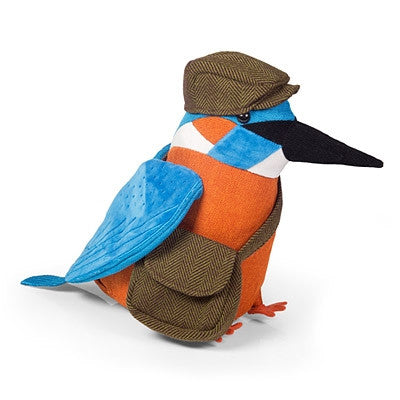 Dora Designs - 'Alcedo The Kingfisher' Doorstop