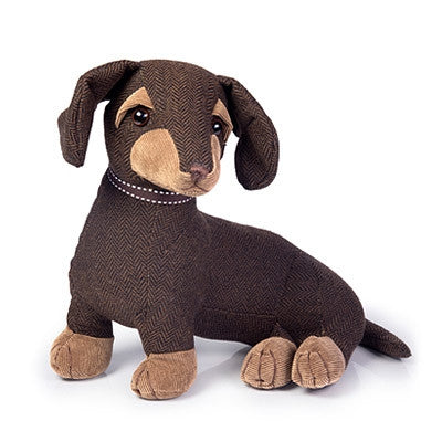 Dora Designs - 'Egbert The Dachshund' Doorstop