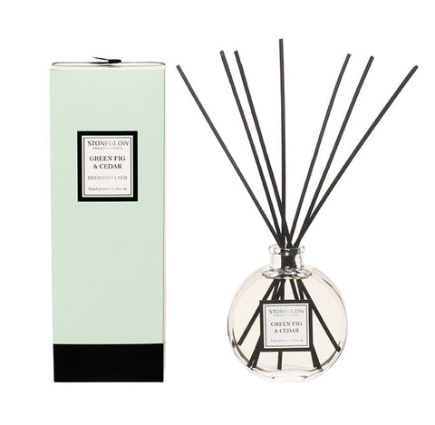 Stoneglow - 'Green Fig & Cedar' Reed Diffuser