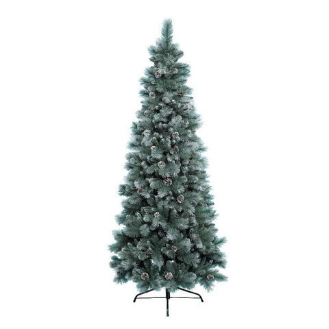 Everlands 7ft 'Frosted Norwich Pine' Artificial Christmas Tree