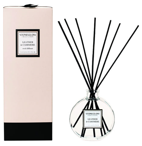 Stoneglow - 'Leather & Cashmere' Reed Diffuser