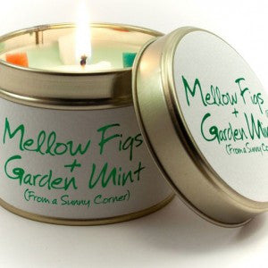 Lily Flame - 'Mellow Figs & Garden Mint' Scented Tin