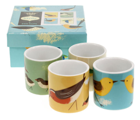 Magpie - Birdy 'Set Of 4' Egg Cups