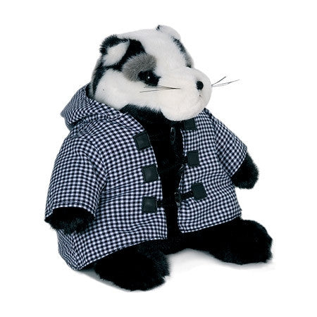 Dora Designs - 'Percy Brocklehurst Badger' Doorstop