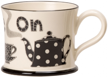 Moorland Pottery - 'Put Kettle On' Mug