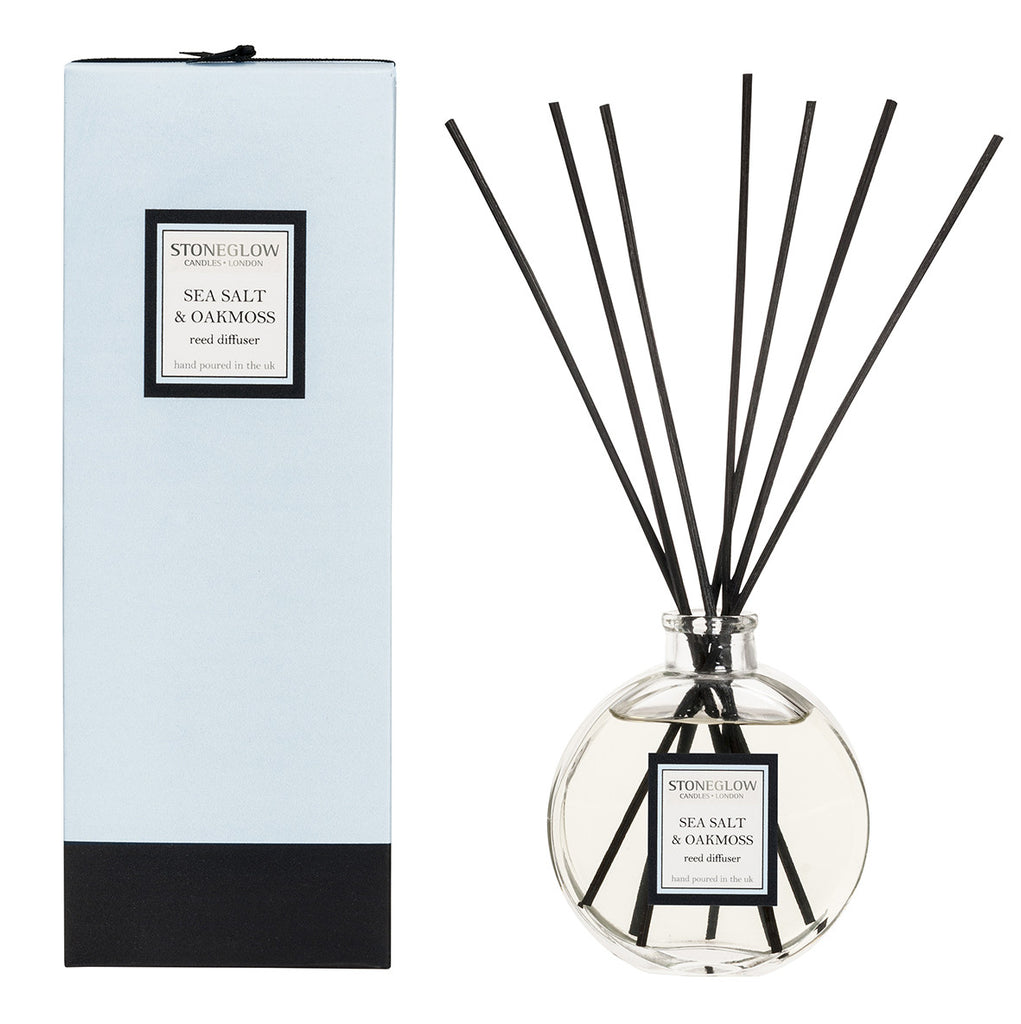 Stoneglow - 'Sea Salt & Oakmoss' Reed Diffuser