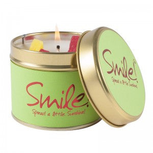 Lily Flame - 'Smile' Scented Tin