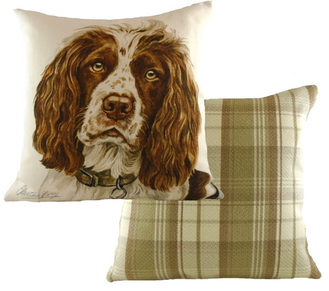 Waggydogz - 'Springer Spaniel' Cushion