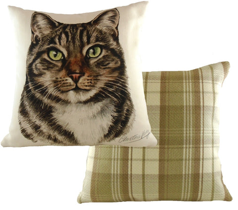 Waggydogz - 'Tabby Cat' Cushion