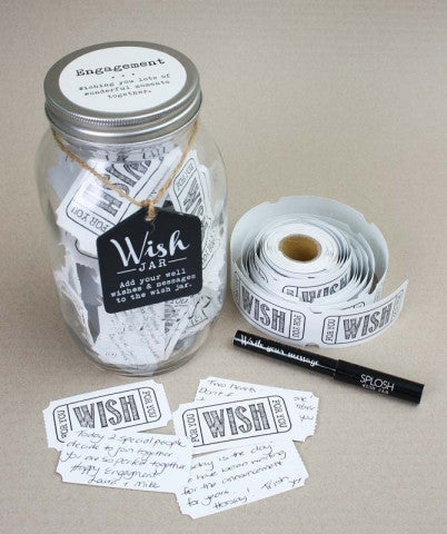 Splosh - 'Engagement' Wish Jar