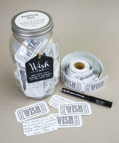 Splosh - 'Wedding Day' Wish Jar