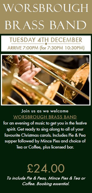 Worsbrough Brass - Tuesday 4th December