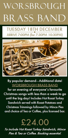 Worsbrough Brass Band - Tuesday 18th December