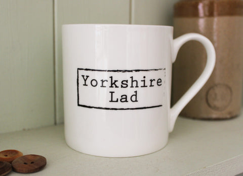 Little Button Co. - 'Yorkshire Lad' Mug