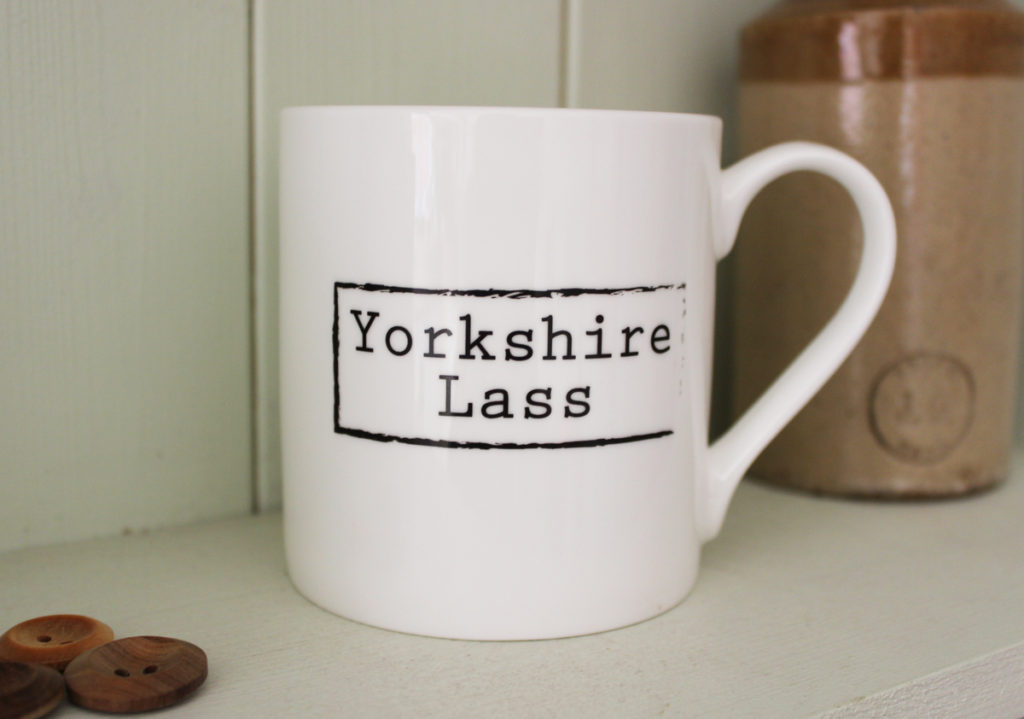 Little Button Co. - 'Yorkshire Lass' Mug