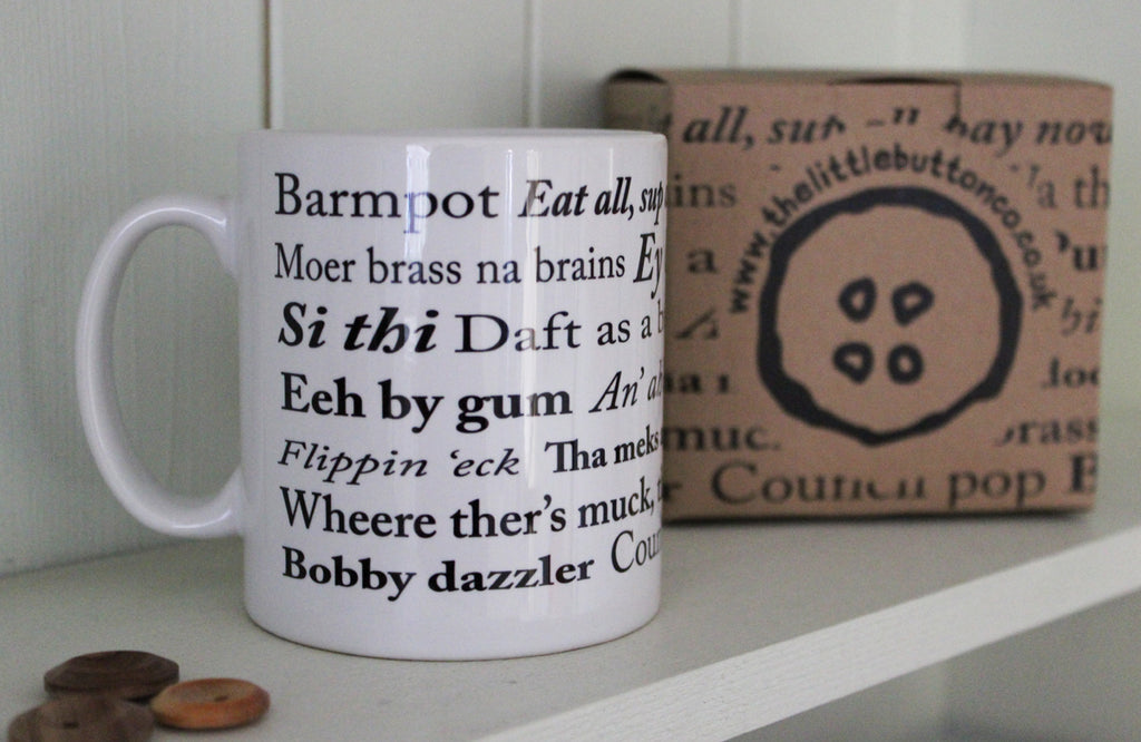Little Button Co. - 'Yorkshire Sayings' Mug