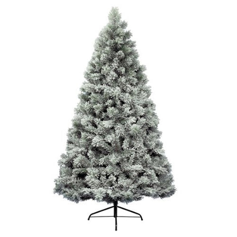 Everlands - 4ft 'Snowy Vancouver Pine' Artificial Christmas Tree