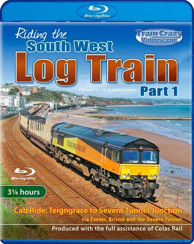 Riding the South West Log Train - Part 1 (1080p HD)