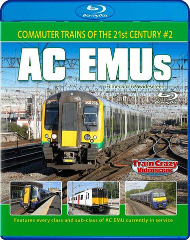 Commuter Trains of the 21st Century #2 - AC EMUs (1080p HD)