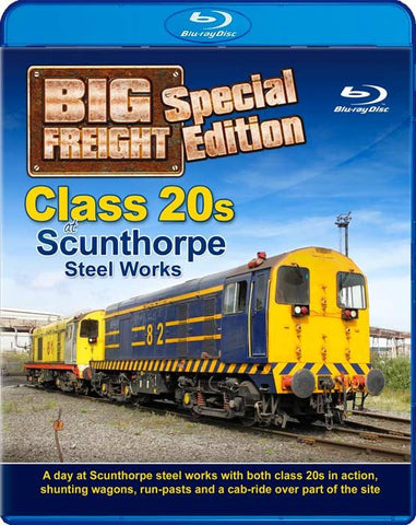 Class 20s at Scunthorpe Steel Works - Big Freight Special Edition (1080p HD)