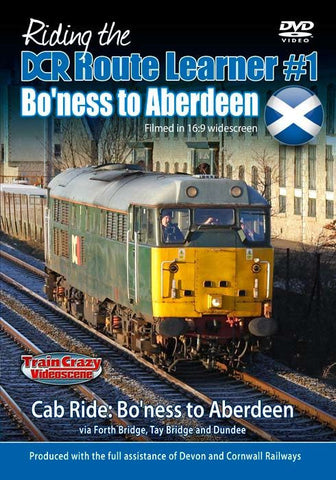 Riding the DCR Route Learner #1 - Bo'ness to Aberdeen