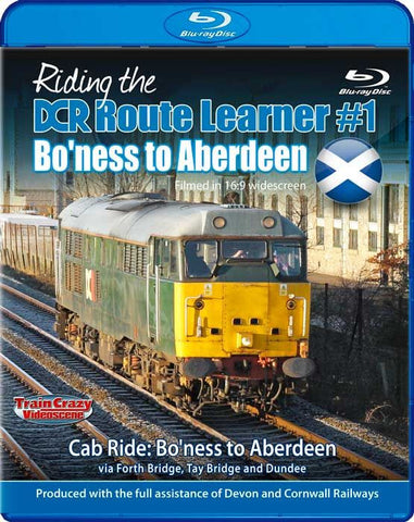 Riding the DCR Route Learner #1 - Bo'ness to Aberdeen (1080p HD)