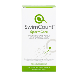 SwimCount™ Male Fertility Supplement + FREE Pill Dispenser
