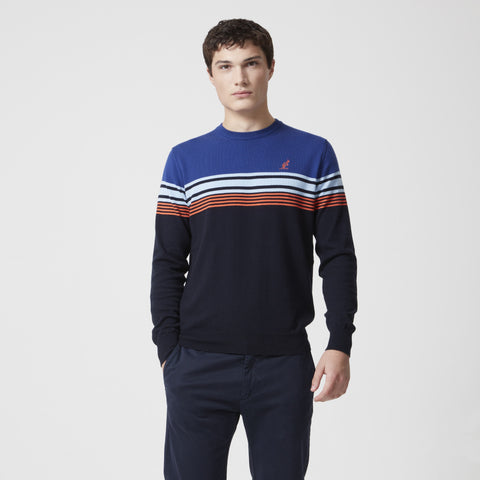 Stripe Cotton Knit