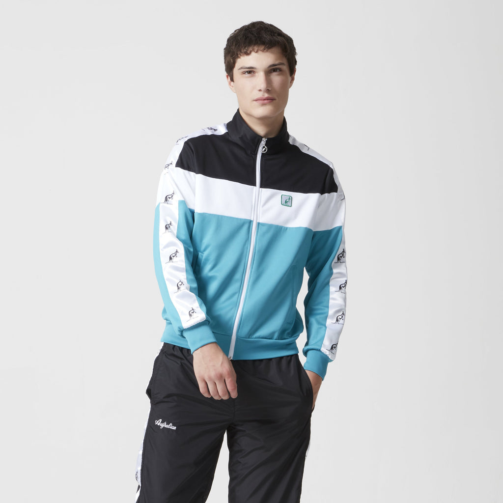 Track Top With Kangaroo Taping