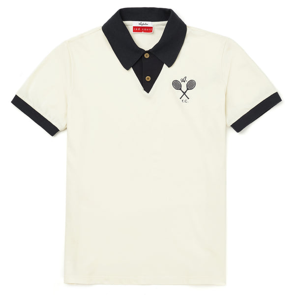 Red Court Tennis Polo